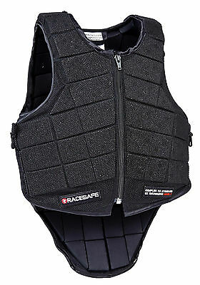 Racesafe Jockey Vest Level1, European Standard EN13158:2009 (Level 1)