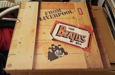 the beatles live from liverpool cassette box set