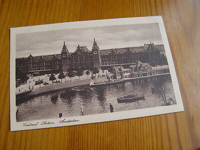 TOP777 - Postcard - Centraal Station, Amsterdam
