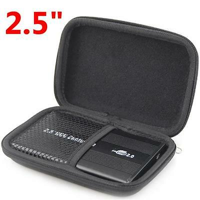 """Portable 2.5"""" Laptop PC USB External HDD Hard Disk Drive Carry Case Cover Pouch"""