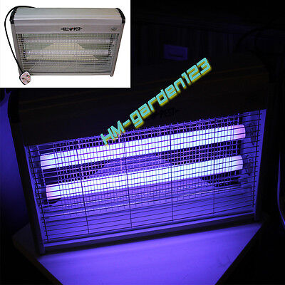 Industrial 30W 20W 12W Electrical Insect Bug Fly Mosquito Killer Zapper+UV Tubes