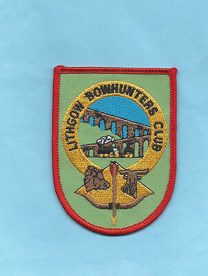 (Rare) LITHGOW BOWHUNTERS CLUB Patch