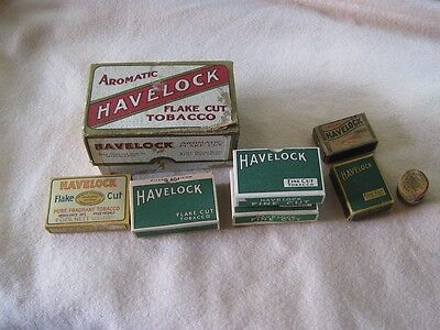 Huge Collection of Rare Havelock Tins