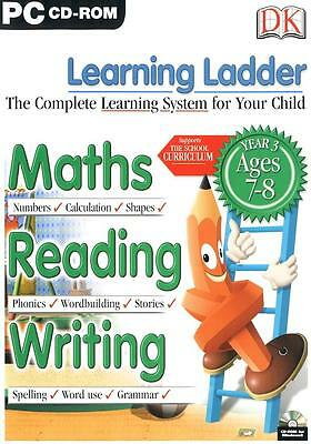 Learning Ladder Grade 3 Maths Reading Writing Windows 7 Computer Game Numbers