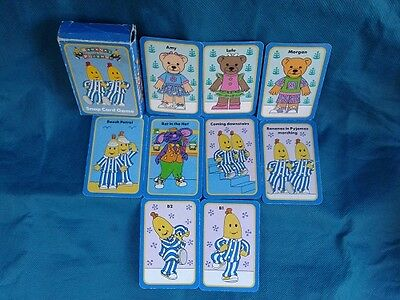 Vintage *ABC * Bananas in Pyjamas *Snap Card Game *1993* Rare *Over 20 years Old