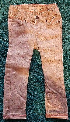 Girls H&m Floral Grey Jeans Printed Age 2-3 Years