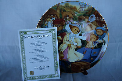 Franklin Mint Teddy Bear Heirloom Collection Collectors Plate