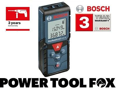 25 ONLY!! Bosch GLM 40 Professional Laser Measure 0601072900 3165140790406