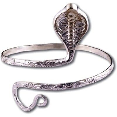 New Stunning Cobra Belly Dancing Arm Band Bracelet Jewellery  - New With Pouch