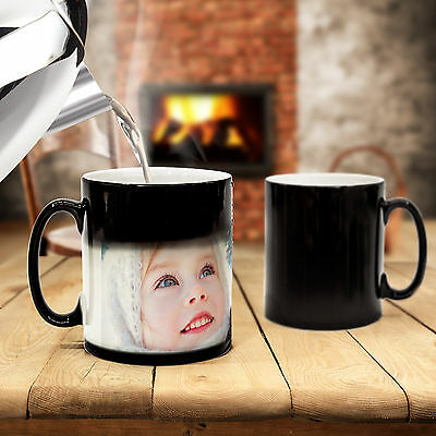 Custom Magic Photo Heat Change Mug Create a Personalized Gift for Tea & Coffee