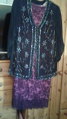 Mother of The Bride Wedding Outfit Size 16