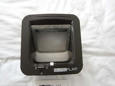 Sureflap Microchip Cat Flap - black with manual