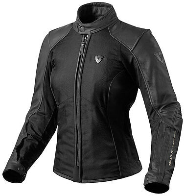 REVIT IGNITION 2 Leather Motorcycle Jacket - Ladies SIZE L42, Black - REDUCED !!