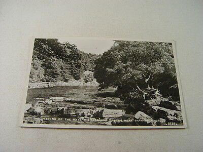 TOP8402 - Valentine's Real Photo Postcard - Meeting of the Waters Barnard Castle