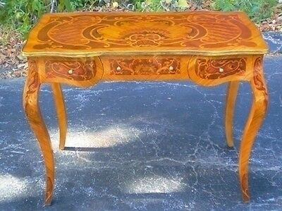 SUPERBLY elegant Lady's desk louis XV rococo style