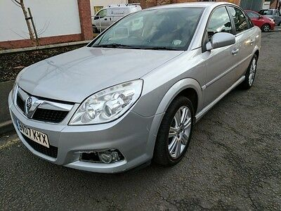 Vauxhall Vectra Exclusive 1.9Cdti 150 Silver 2007
