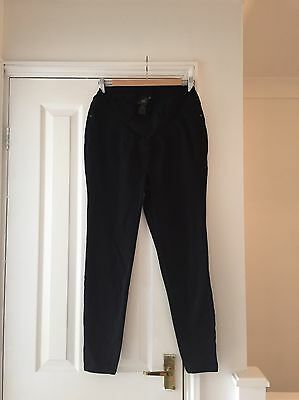 Bnwot Uk Size 14 Under Bump Maternity Skinny Jeans In Black From Next