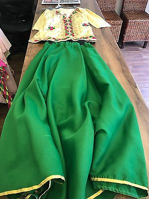 Chinese Style Dance Costume, Top & Skirt Age 8-12