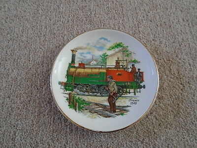 Liverpool Road Pottery Ltd Small Plate Depicting Steam Train
