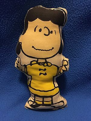 1952 Lucy Plush Pillow Doll From Peanuts Charlie Brown
