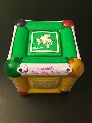 Munchkin Mozart Magic Cube Baby Activity Musical Lights Educational Toy