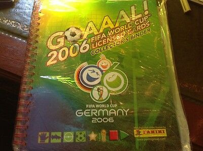 world cup 2006 panini trading cards complete in binder mint