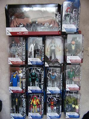 "Batman The Animated Series / New Adventures Action Figures 6"" DC Collectibles"