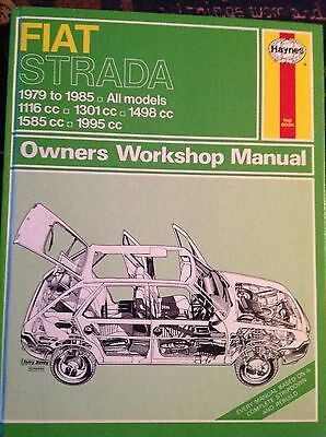 Haynes Manual for a Fiat Strada.