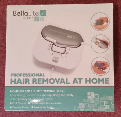 BellaLite Silkn Professional Hair Removal Pulsed Light FDA Quick Save Home 7921