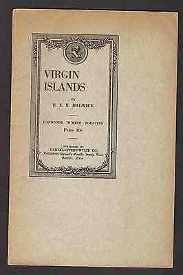 The Stamps Of The Virgin Islands to c. 1913 by Dalwick