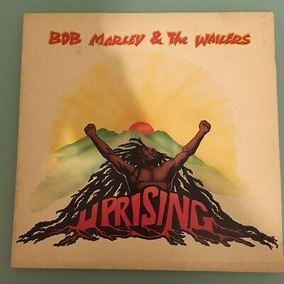 BOB MARLEY & THE WAILERS - UPRISING - Original 1980 Vinyl LP
