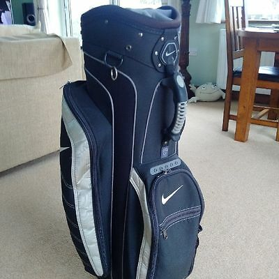 14 Division Large Capacity Nike Trolley Cart Carry Golf Clubs Bag