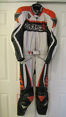Dainese Leather Two Peice Race Bike Suit / Gloves....Alpinestars..
