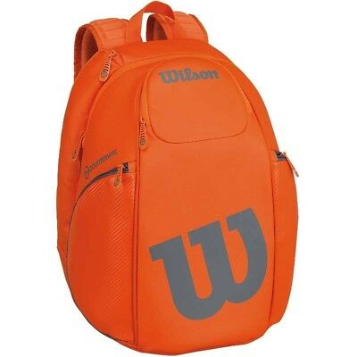 Wilson Burn Countervail (Vancouver) Backpack - 2 Racket Orange / Grey 2017