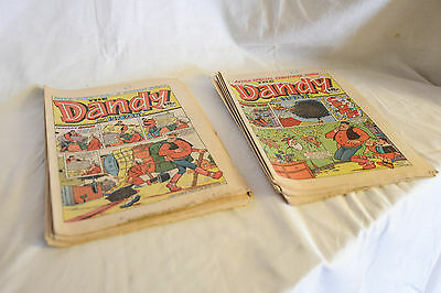 Joblot 10 vintage 1987 DANDY COMICS, Desperate Dan, Bananaman etc.