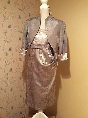 Gorgeous Mother Of The Bride Outfit, Immaculate Condition, Size 12-14
