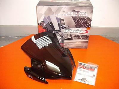 PUIG Dark Smoke/Tint New Generation Screen/Windshield: SUZUKI GSR750 (5646F)