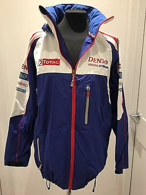 Toyota Official Team Wear - Soft Shell Raincoat - Le Mans WEC - New, Size L
