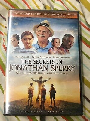 The Secrets of Jonathan Sperry (DVD, 2010) Brand New and Sealed