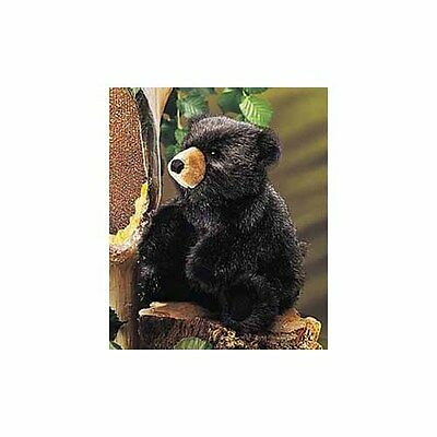 Baby Black Bear Hand Puppet by Folkmanis - 2232