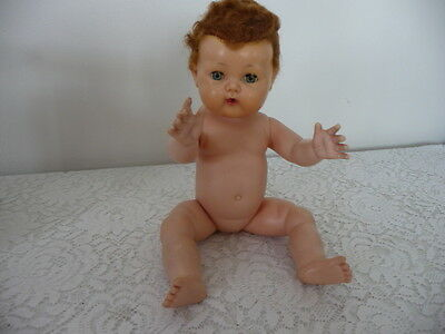 Vintage American Character Tiny Tears 15 Inch Doll