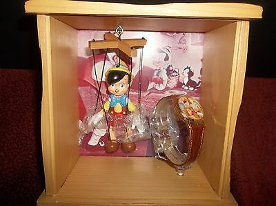 Walt Disney Limited Edition Pinocchio watch puppet set Only 3000 Made