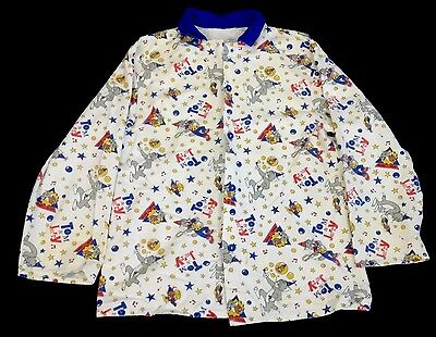 vintage tom and jerry pyjama top - shirt - robe - st michael - 9 to 10 years