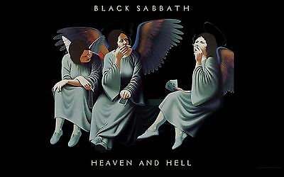BLACK SABBATH HEAVEN AND HELL POSTER 24 X 36 Inches Looks great Ozzy Osbourne