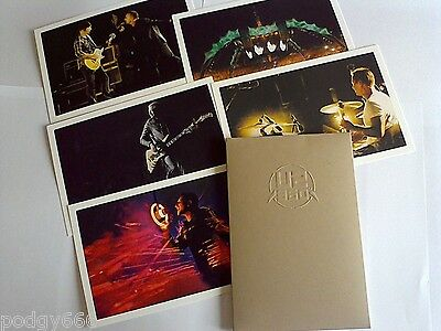 U2 5X Art Prints In Embossed Wallet 360 Tour Rose Bowl