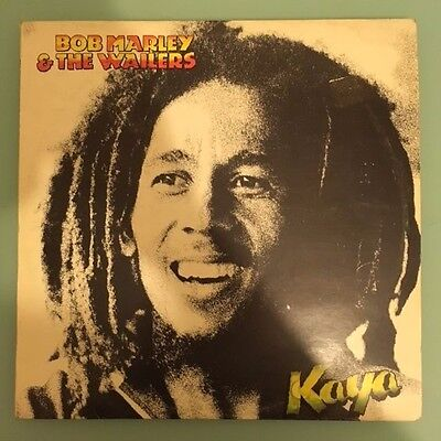 BOB MARLEY & THE WAILERS - KAYA - Original 1978 Vinyl LP (Greece)