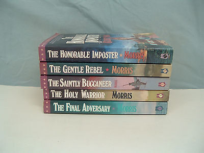 Gilbert Morris the house of Winslow  paperback book series  lot of 5