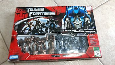 2009 Transformer Set Game Chess Completed
