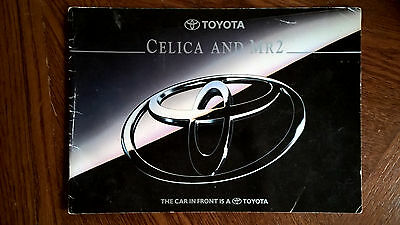 Toyota Celica and MR2 Catalogue / Brochure
