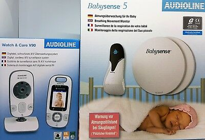 Audioline Babysense 5 plus Watch & Care V90 - Neu & OVP, Händler